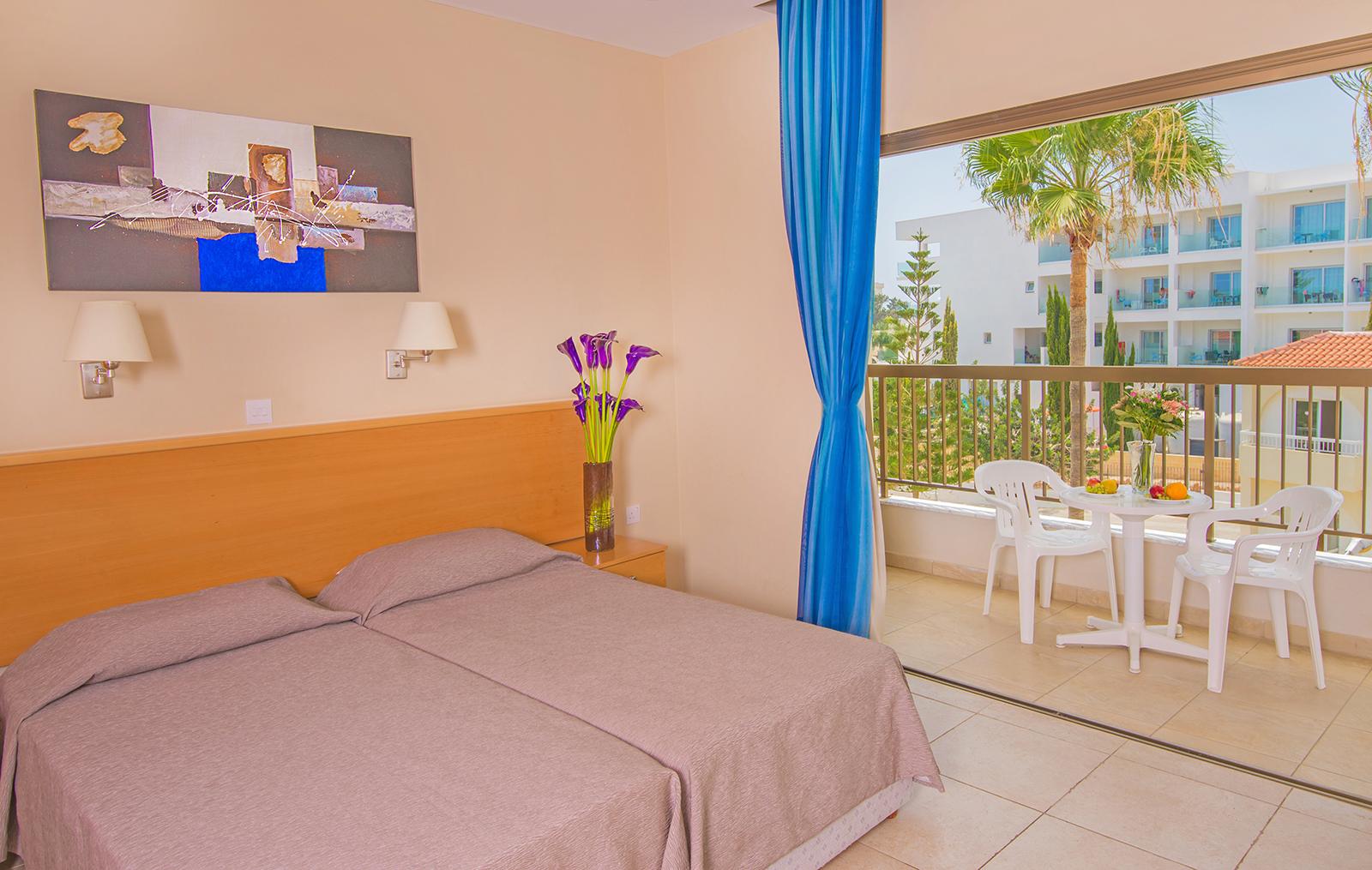Hotel rooms in Ayia Napa, Cyprus